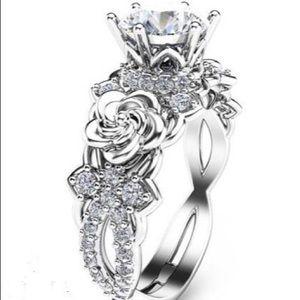 Evermarker Floral Engagement/Promise Ring